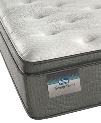 """BeautySleep 12.5"""" Keyes Peak Luxury Firm Pillow Top Mattress- Twin"""