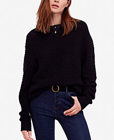 Free People Menace Cotton Sweater