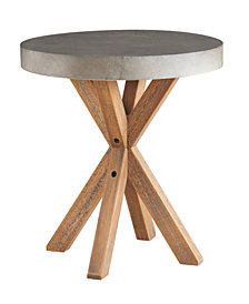Maui Round Concrete Bistro Table