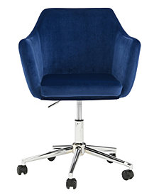 Upholstered Office Chair, Sapphire