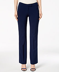 Anne Klein Rocker Flare-Leg Pants