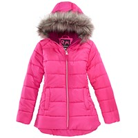 Macys deals on RM 1958 Big Girls Ashlyn Hooded Jacket with Faux-Fur Trim