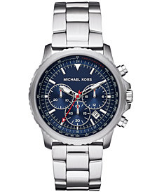 Michael Kors Men's Chronograph Theroux Stainless Steel Bracelet Watch 42mm