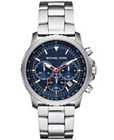f1c176eada88 Michael Kors Men s Chronograph Theroux Stainless Steel Bracelet Watch 42mm
