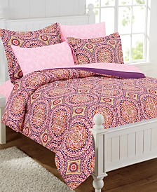 Thalia 11-Piece Bed-In-A-Bag With Extra Sheet Set, Full