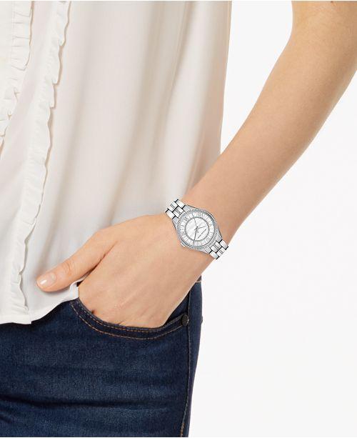 45d44c0e6313 Michael Kors Women s Mini Lauryn Stainless Steel Bracelet Watch 33mm ...