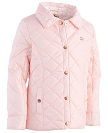 Toddler Girls Quilted Barn Jacket