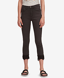DKNY Lace-Cuff Everywhere Skinny Jeans, Created for Macy's