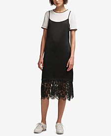 DKNY T-Shirt Slip Dress, Created for Macy's