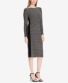 Lauren Ralph Lauren Printed Stretch Dress