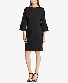 Lauren Ralph Lauren Petite Bell-Sleeve Dress