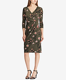 Lauren Ralph Lauren Surplice Dress