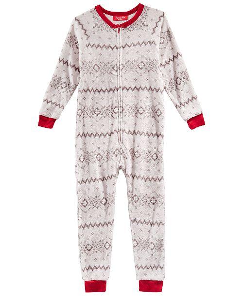 cff76f1e1bd5 Family Pajamas Matching Winter Fairisle One-Piece