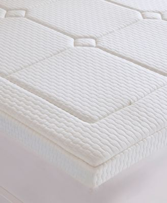 "Flexapedic by Sleep Philosophy Deluxe Twin 3"" Quilted Memory Foam Mattress Topper"