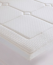 "Deluxe Twin 3"" Quilted Memory Foam Mattress Topper"