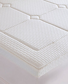 "JLA Home  Flexapedic by Sleep Philosophy Deluxe 3"" Quilted Memory Foam Mattress Topper Collection"