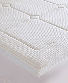 "Flexapedic by Sleep Philosophy Deluxe 3"" Quilted Memory Foam Mattress Topper Collection"