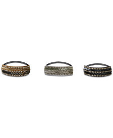 Deepa Multi-Tone Embellished Hair Ties