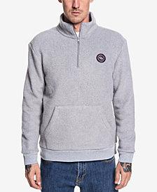 Quiksilver Men's Quarter-Zip Fleece Pullover