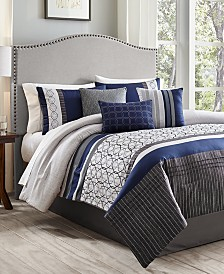 Wrener 7-Pc. Queen Comforter Set, Created for Macy's