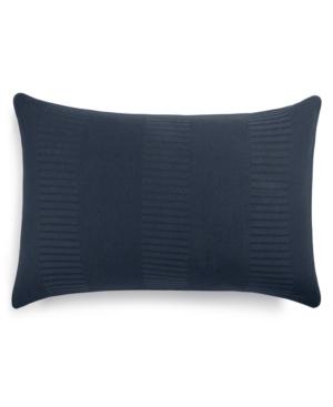 Image of Calvin Klein Modern Steve Standard Sham, a Macy's Exclusive Style Bedding