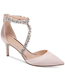 Jewel Badgley Mischka Jaylah Evening Pumps