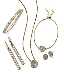 Crystal Pavé Jewelry Collection
