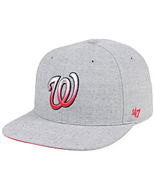 '47 Brand Washington Nationals Falton Snapback Cap
