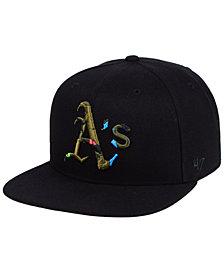 '47 Brand Oakland Athletics Camfill Neon Snapback Cap