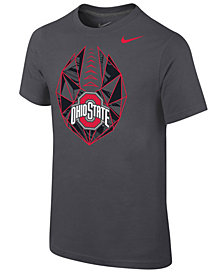 Nike Ohio State Buckeyes Icon T-Shirt, Big Boys (8-20)
