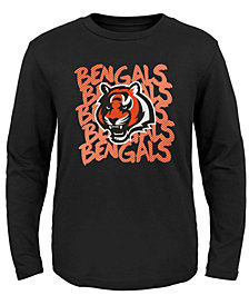 Outerstuff Cincinnati Bengals Graph Repeat T-Shirt, Toddler Boys (2T-4T)