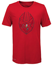 Nike Tampa Bay Buccaneers Football Icon T-Shirt, Big Boys (8-20)