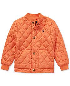 Polo Ralph Lauren Little Boys Quilted Baseball Jacket