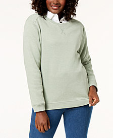 Karen Scott Classic Sweatshirt, Created for Macy's