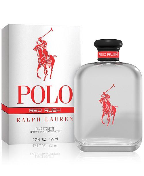 d3fd71898ab Ralph Lauren Men s Polo Red Rush Eau de Toilette, 4.2-oz. - Shop All ...