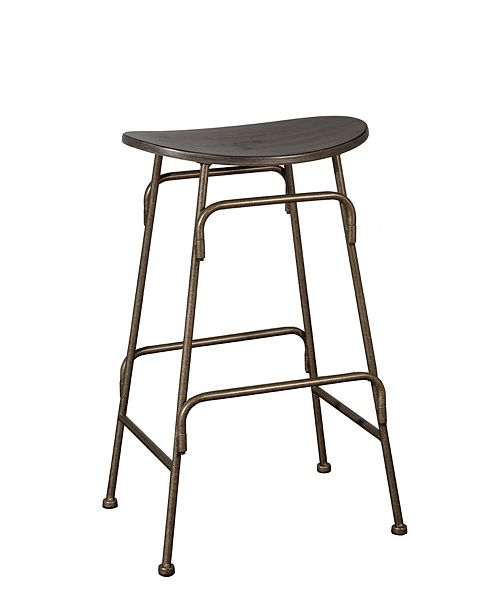 Hillsdale Mitchell Non-Swivel Backless Counter Stool