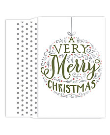 Masterpiece Studios Merry Ornament Boxed Cards
