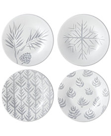 Lenox Alpine 4-Pc. Assorted Tidbit Plate Set