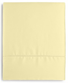 Solid Open Stock 400 Thread Count Twin Flat Sheet, Created for Macy's