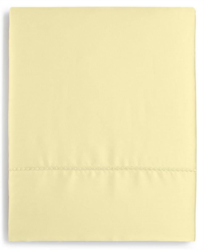 Martha Stewart Collection Solid Open Stock 400 Thread Count Full Flat Sheet, Created for Macy's