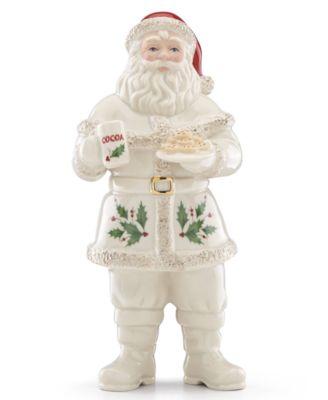 Santa With Cookies Figurine, Created for Macy's
