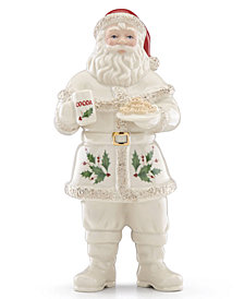 Lenox Santa With Cookies Figurine, Created for Macy's
