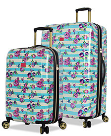 Betsey Johnson Hummingbird Hardside Luggage Collection