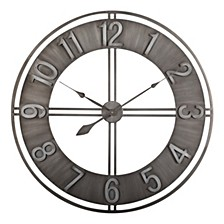 "30"" Industrial Loft Wall Clock"