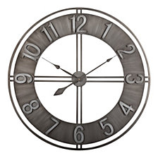"30"" Industrial Loft Wall Clock"