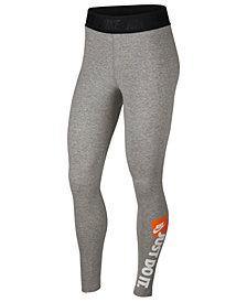 """Nike """"Just Do It"""" High-Waist Leggings"""