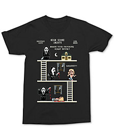Men's Scream Pixel Story Graphic T-Shirt