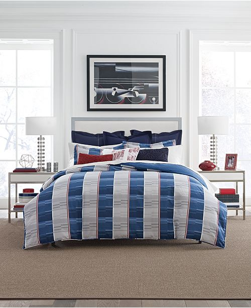 Tommy Hilfiger Tenaya Canyon Plaid Bedding Collection