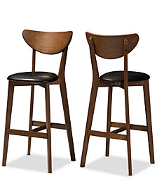 Bethanye Bar Stool (Set Of 2), Quick Ship