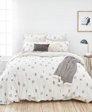 Splendid Crosshatch Full/Queen Duvet Cover Set Bedding 6652928
